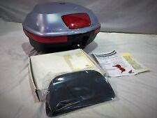 Honda XL1000 Varadero 45 litros Caja Superior Kit Chevalier Plata 08L55-MBT-810A