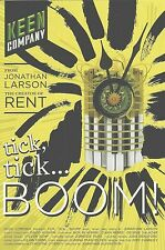 tick, tick… BOOM! by JONATHAN LARSON the 1st OFF-BROADWAY REVIVAL