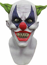 HALLOWEEN ADULT CREEPY GIGGLES CLOWN HORROR MASK PROP
