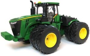Ertl 45508 - John Deere 9620R 4WD Articulated Tractor with Doubles - Scale 1:16