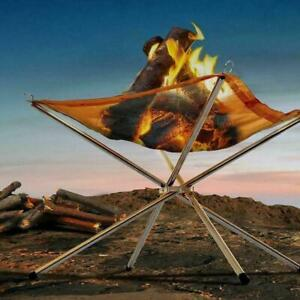 Faltbare Mesh Feuerstelle Tragbare Feuerschale Lagerfeuer Tragbare Camping Grill