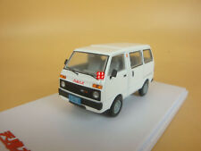 1/43 China Tianjin DAFA HUALI TJ110 (  DAIHATSU ) van wagon model WHITE COLOR