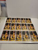 (15) 1997-98 Topps #109 Shaquille O'neal Lakers Shaq Diesel