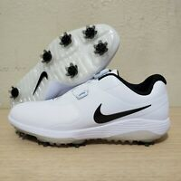 Nike Mens Vapor Pro BOA Waterproof Spiked Golf Shoes White Size 9.5 (AQ1790-100)