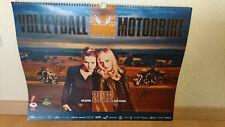 DSC Wandkalender 2012-Volleyball & Motorbikes - Unterschriften von Spielerinnen