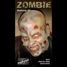 Mehron Zombie Costume Complete Make Up Kit Theatre Stage KMP-Z