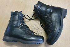 Original Altberg Black Leather Vibram Sole British Combat Boot Size 8M UK #975