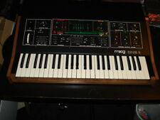 Moog Opus-3 Keyboard Synthesizer with sustain pedal and manuals vintage gear