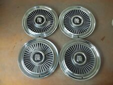 "1958 58 Dodge Hubcap Rim Wheel Cover Hub Cap 14"" OEM USED SET 4"