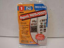 "Qty = 10: Freeze A Frame Magnetic Photo Pocket 2-1/2"" x 3-1/2"" Item No. 32302"