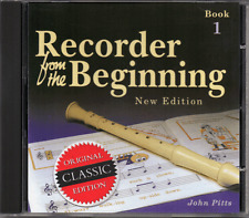 RECORDER FROM THE BEGINNING BOOK 1 - CD ONLY - BACKING TRACKS CD Classic Edition