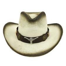 Hats For Men Women Cowboy Jeans Men's Hats Semi Leather New Retro Beach Travel