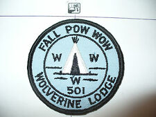 OA Wolverine Lodge 501,1966 Fall,Pow Wow, pp,61,156,244,635,Kettle Moraine Cl,WI