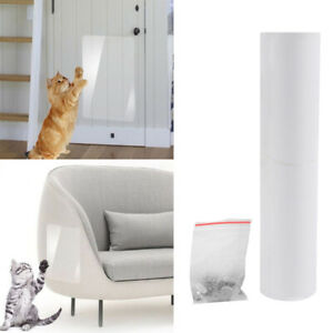 PVC Cat Scratch Deterrent Tape Protector Cat Training Tape for Carpet Sofa