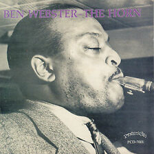 BEN WEBSTER & HIS ORCHESTRA - 1944 THE HORN (1993 JAZZ CD REISSUE)