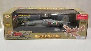 Machi C.205 Veltro - Italian WWII - Ultimate Soldier 1:32 - Complete