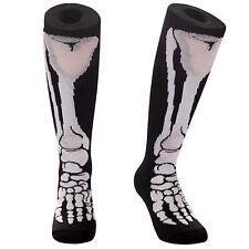 SAMSON® FUNKY SOCKS SKELETON LEG BONES HALLOWEEN FOOTBALL RUGBY PARTY FUNNY KIDS