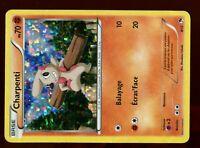 PROMO POKEMON CARD FRANCAISE MAC DONALD N&B 2013 HOLO N°  8/12 CHARPENTI (Usé)