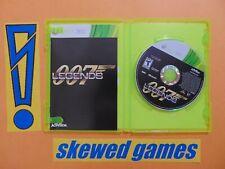 007 Legends - James Bond - cib - XBox 360 Microsoft