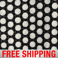 """Volleyballs Black Fleece Fabric - 60"""" Wide - Style# 1071 - Free Shipping!!"""
