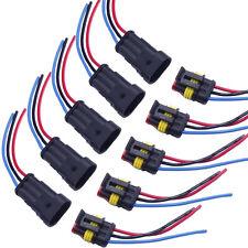 5x 3-Polig Kabel Steckverbinder Stecker Wasserdicht Schnellverbinder KFZ LKW WYS