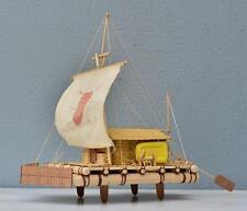 Hobby ship model kits scale 1/16 Raft wooden model 12 ft  ATLANTIC original raft