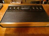 ATARI 2600 6 SWITCH VIDEO GAME WORKING CONSOLE  VG