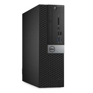 Dell Optiplex 7050 SFF PC Intel Core i5 7500 8G 256G SSD DVDRW HDMI Win 10 Pro