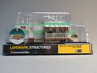 WOODLAND SCENICS GRILLIN & CHILLIN TRAILER BUILT & READY O GAUGE park WDS5861