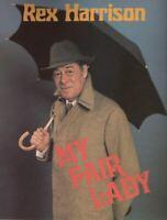 "Rex Harrison ""My Fair Lady"" Revival Souvenir Program PREVIEW 1981 Cheryl Kennedy"