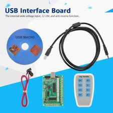 Placa de interfaz USB tarjeta de control de la controladora Cnc Mach 3 para máquina de grabado GL