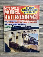 Vintage Magazine Model Railroading Winter 1977 Stonebridge Brick Factory