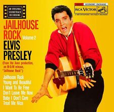 Elvis Presley - Jailhouse Rock 60's Rock & Roll Vinyl LP Sticker or Magnet