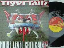 Tigertailz ORIG UK PS 12 Noise level critical NM '90 Music For Nations Glam Meta
