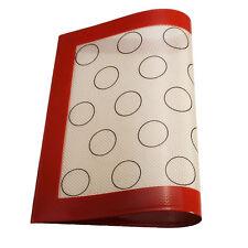 New Fiberglass MACARON Silicone Mats Baking Liner Oven Mat Heat Insulation Pad
