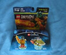 New 3 in 1 Lego Dimensions Chima 45 Pc. Fun Pack #71223 Cragger Swamp Skimmer