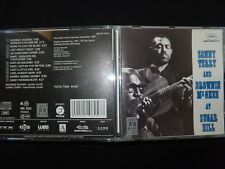 CD SONNY TERRY AND BROWNIE Mc GHEE / AT SUGAR HILL /