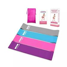 Resistance Workout Bands Loop Set CrossFit Fitness Yoga Booty Leg Exercise Band!