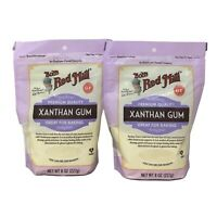 2-Pk Bob's Red Mill Xanthan Gum - Baking Thickener Sauces, GF/Vegan - 8 Oz.
