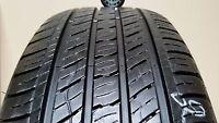 1 Tire 235 60 18 Kumho Crugen Premium  (65-75% Tread)