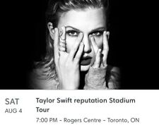 Taylor Swift Reputation Tickets, Rogers Centre, Toronto