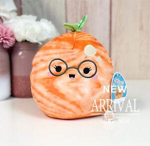 "KellyToy Squishmallow 8"" Judy the Tangerine NEW Fruit Food Squad Plush LT ED HTF"