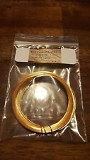 30ft ELF Custom Cables 24k Gold plated 99.9999 % pure OCC copper wire 22awg.