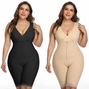 HOT Plus Size Ladies Full Body Shaper Slimming Shapewear Tummy Control Underwear