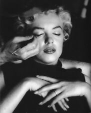Marilyn Monroe In The Hands Of The Make-Up Artist 8x10 Picture Celebrity Print