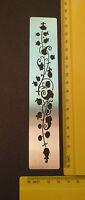 Border/Metal/Stencil/Leaf/Floral/Oriental/Vine/emboss/Stainless/Steel