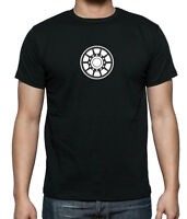 IRONMAN inspired Glow In The Dark  ARC REACTOR T-shirt  in sizes up to 5X Large