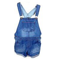Tommy Hilfiger Girls Shorts Blue Overalls Size XL (16)