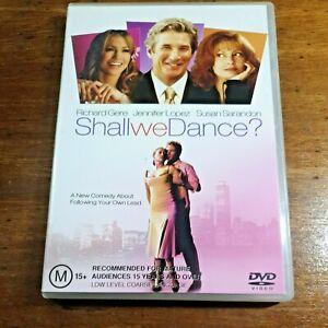 Shall We Dance DVD R4 LIKE NEW FREE POST