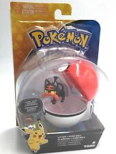 TOMY POKEMON LITTEN + Poke Ball Clip and Carry Action Figure Toy